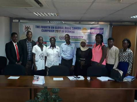 Campaign Team in Uganda